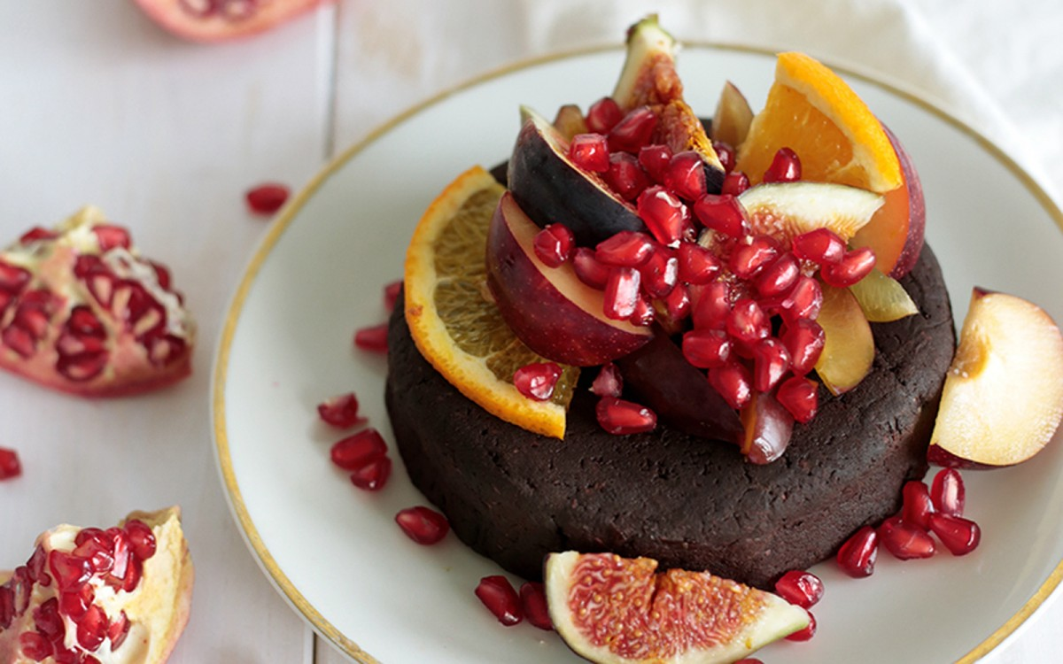 No-Bake Sweet Potato Cake [Vegan, Gluten-Free]