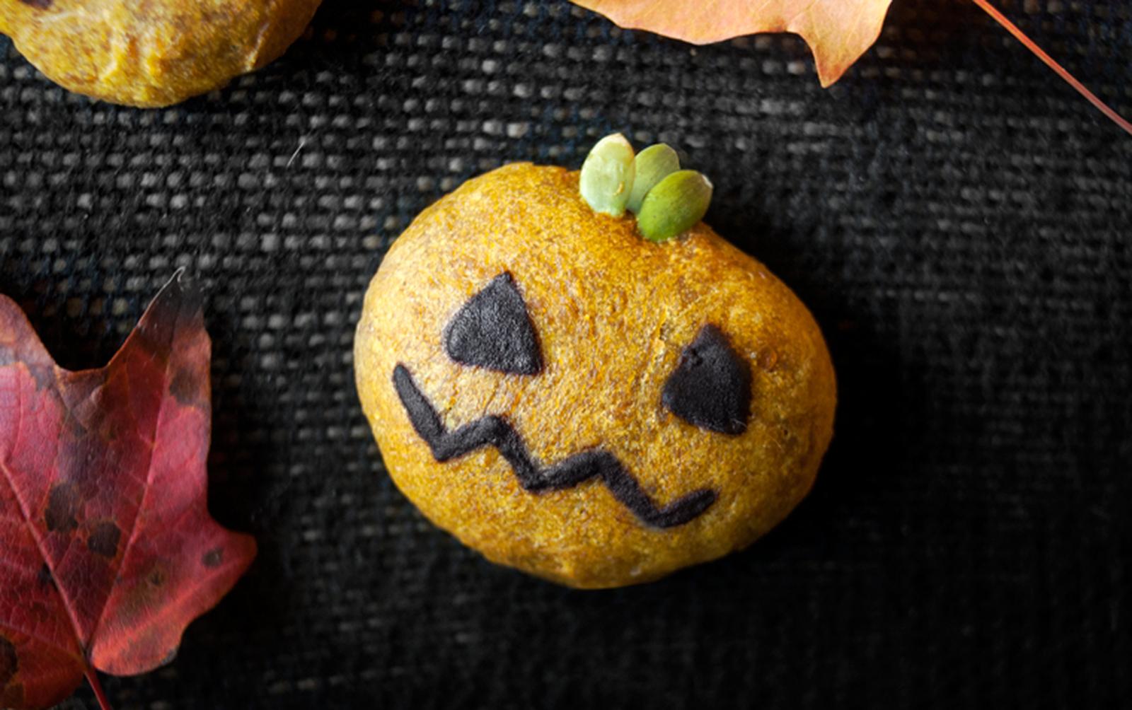 Halloween Pumpkin Cookies [Vegan]