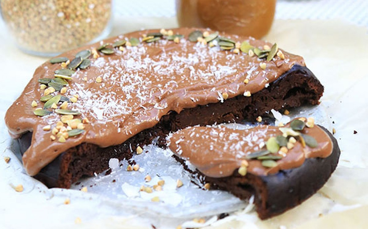 Flourless Dark Chocolate Cake To Die For! [Vegan, Gluten-Free]