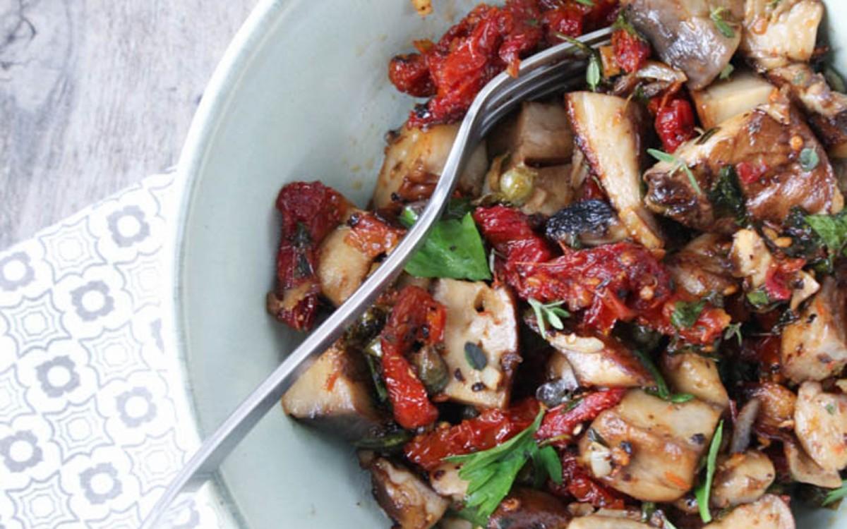 Italian Portobello Mushroom Bowl