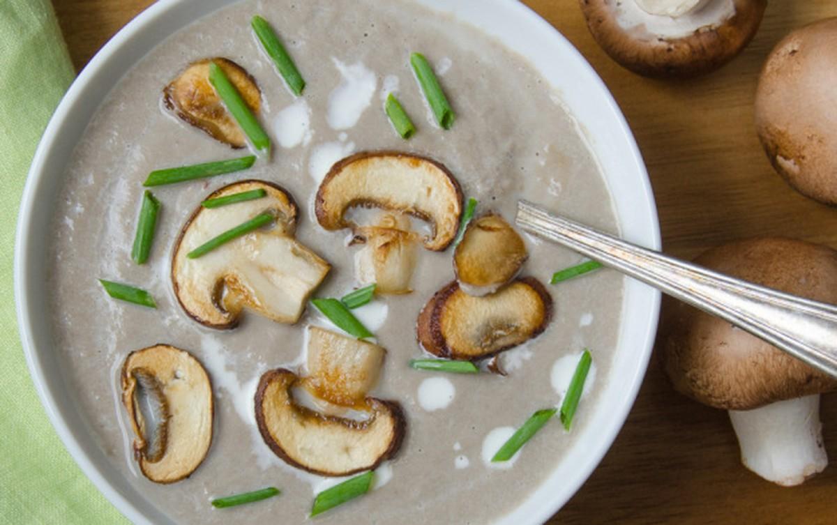 Creamy Mushroom Bisque [Vegan, Gluten-Free]