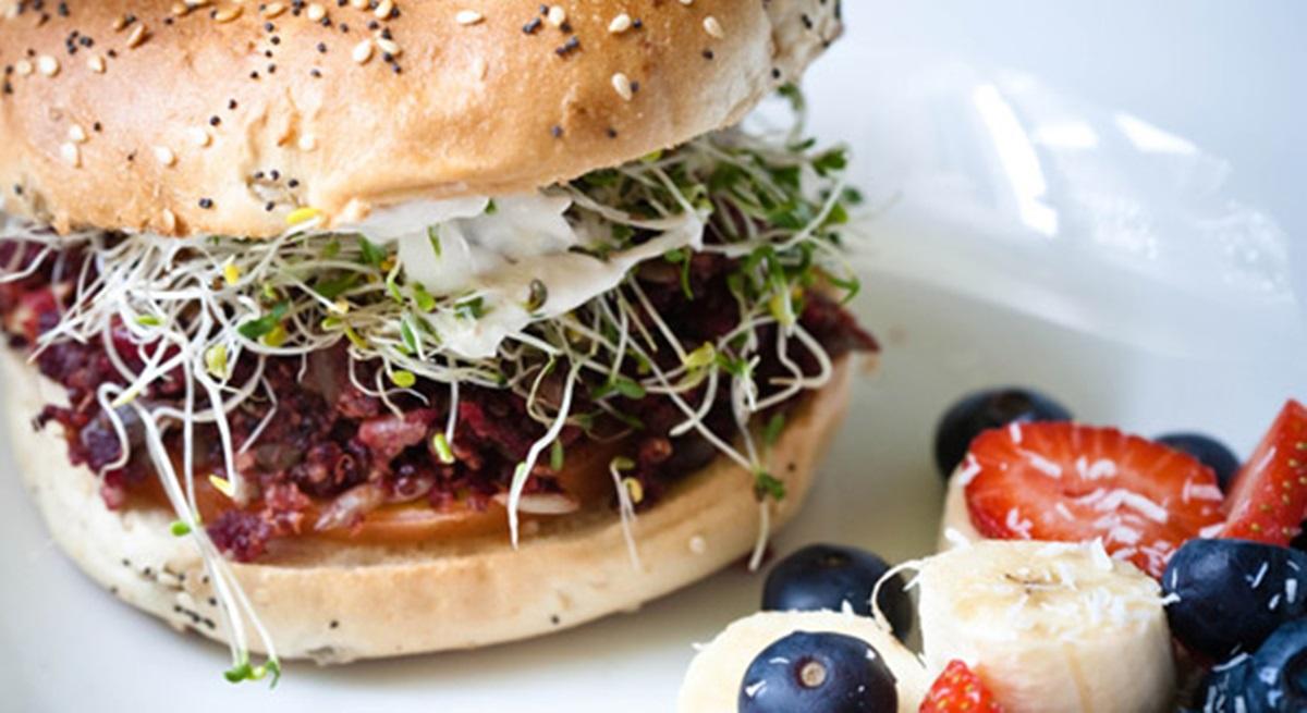 plum burger