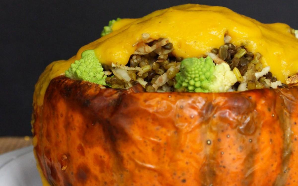 Fairytale Pumpkin Feast for Two