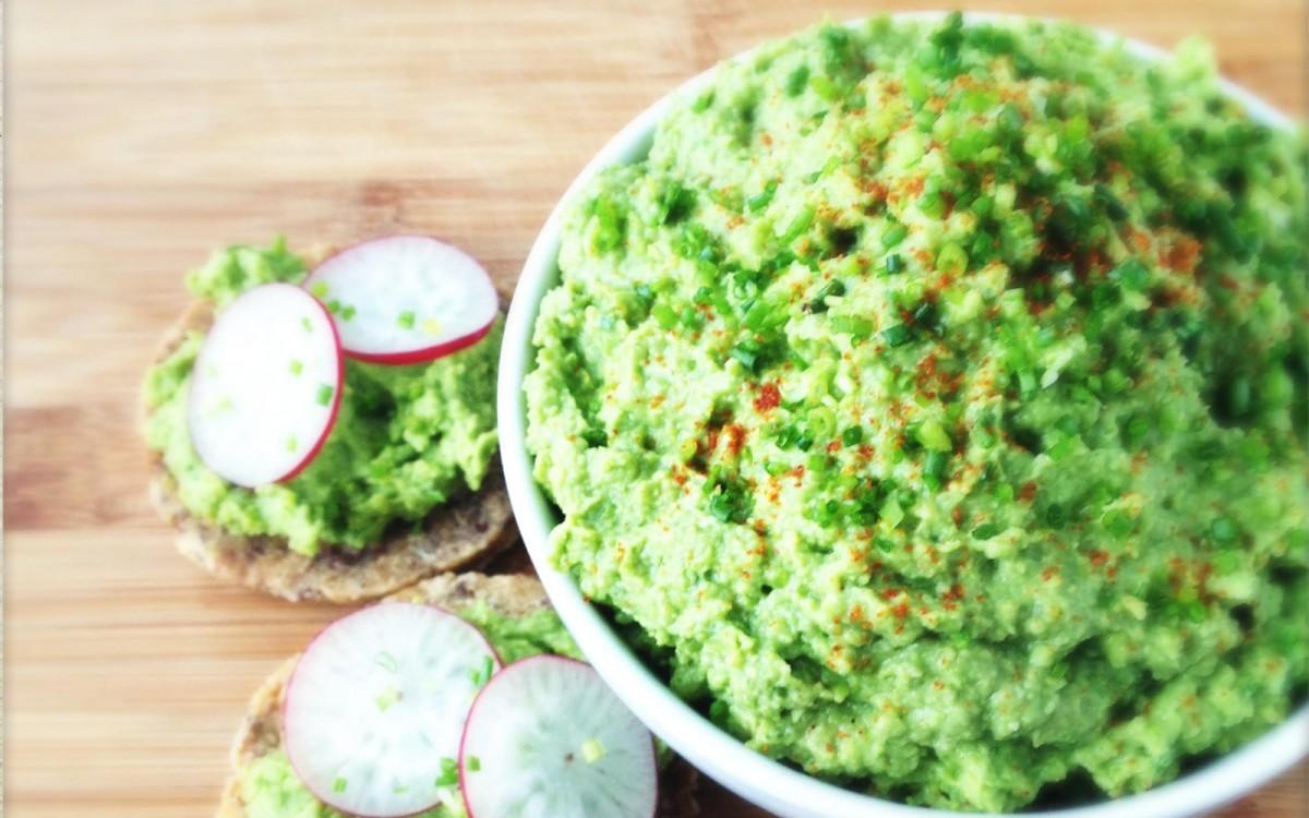Green Pea Avocado Spread