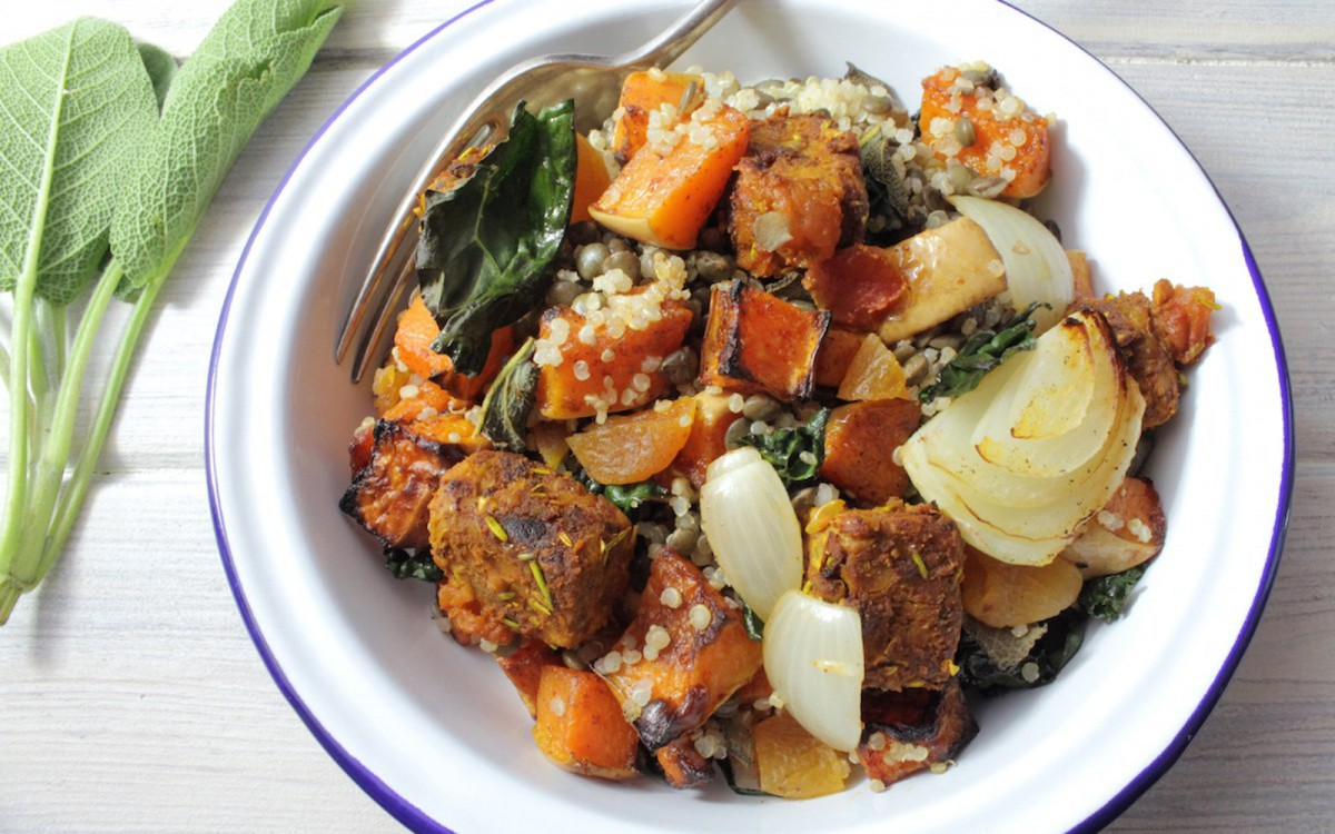 Tempeh Tagine Bowl