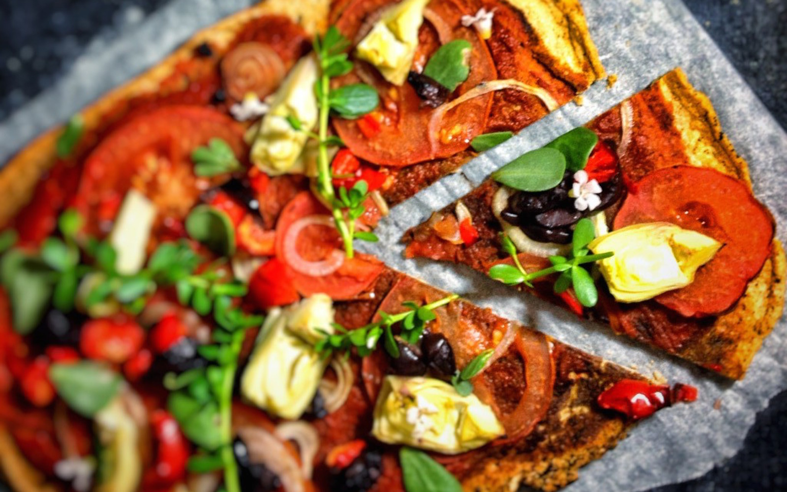 Lentil Pizza Crust