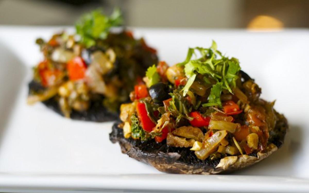 Stuffed Italian Portobello Mushrooms