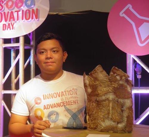 15 year old Amin Hataman creates new biodegradable plastic bag