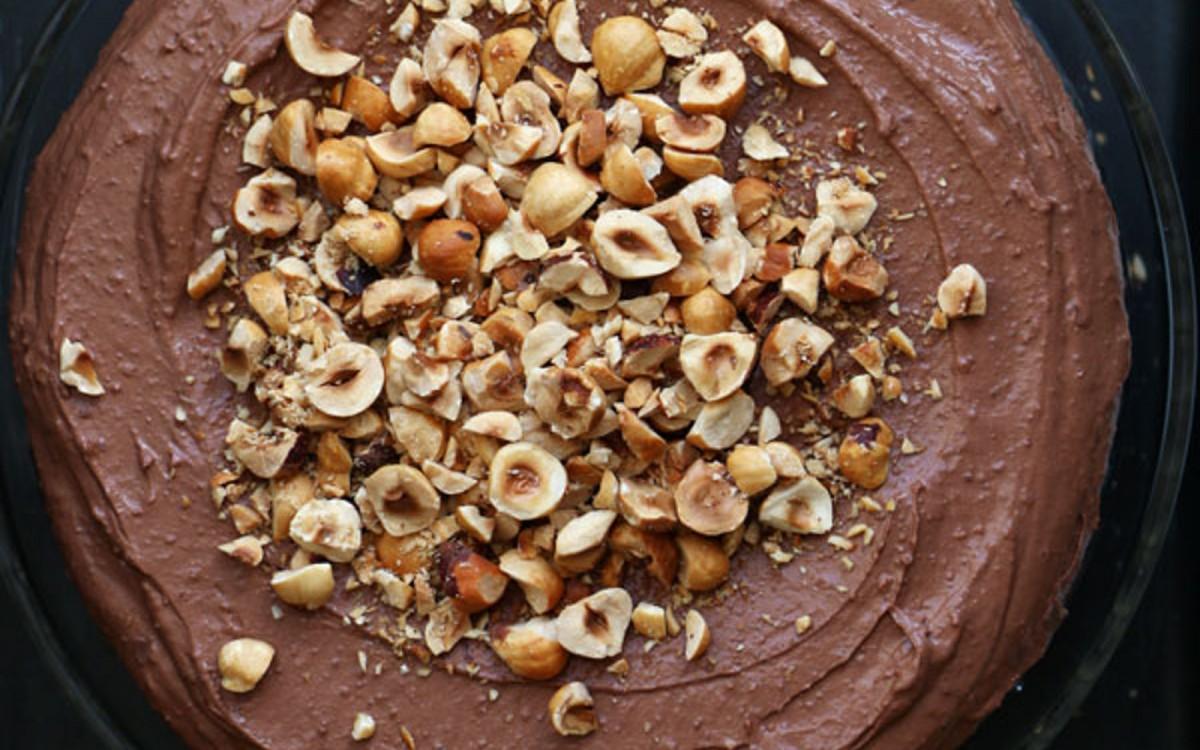 Chocolate Teff Cake With Chocolate Hazelnut Frosting