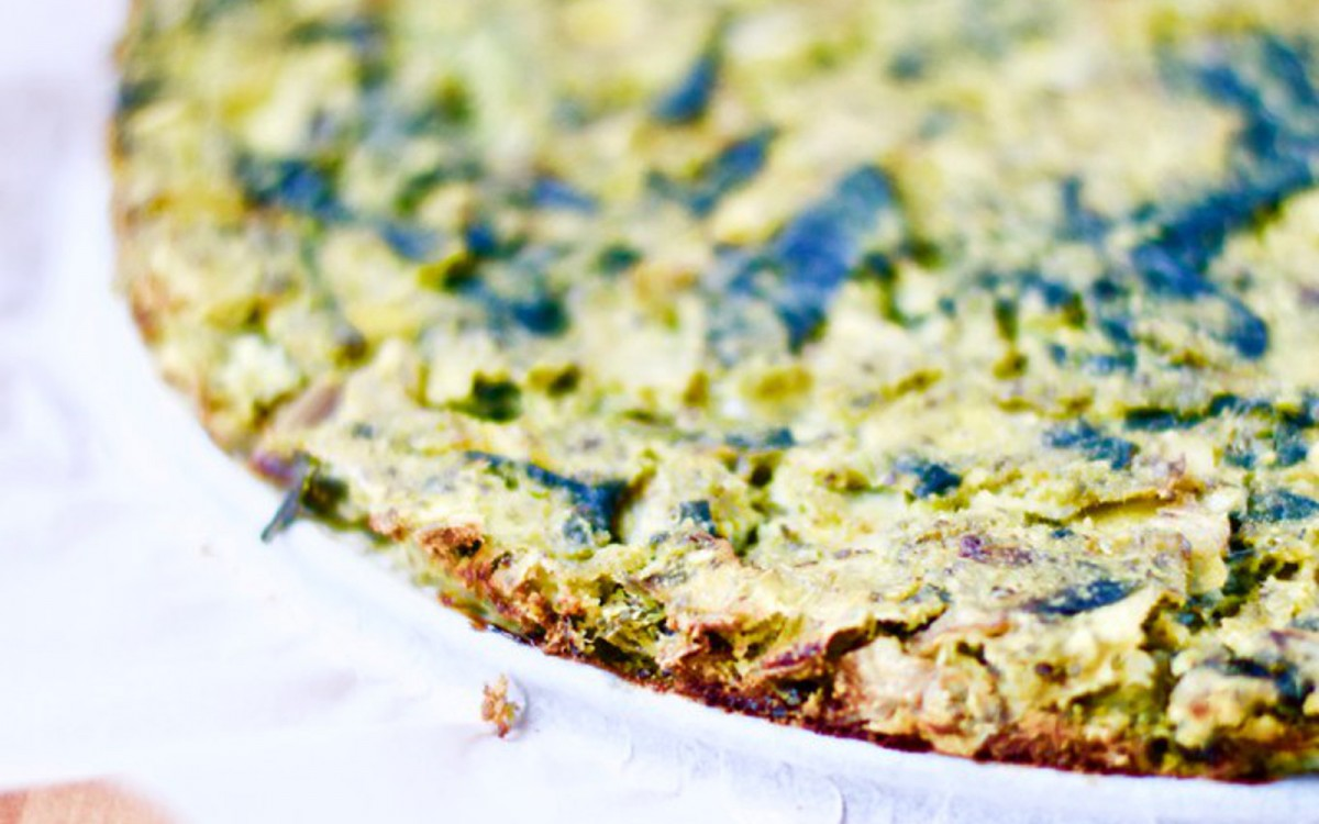 Fresh Spinach Quiche