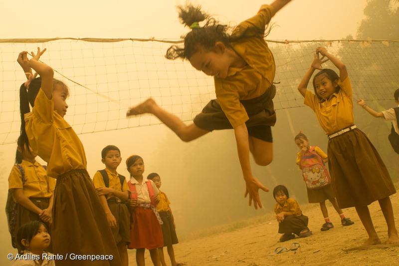 Haze in Central Kalimantan