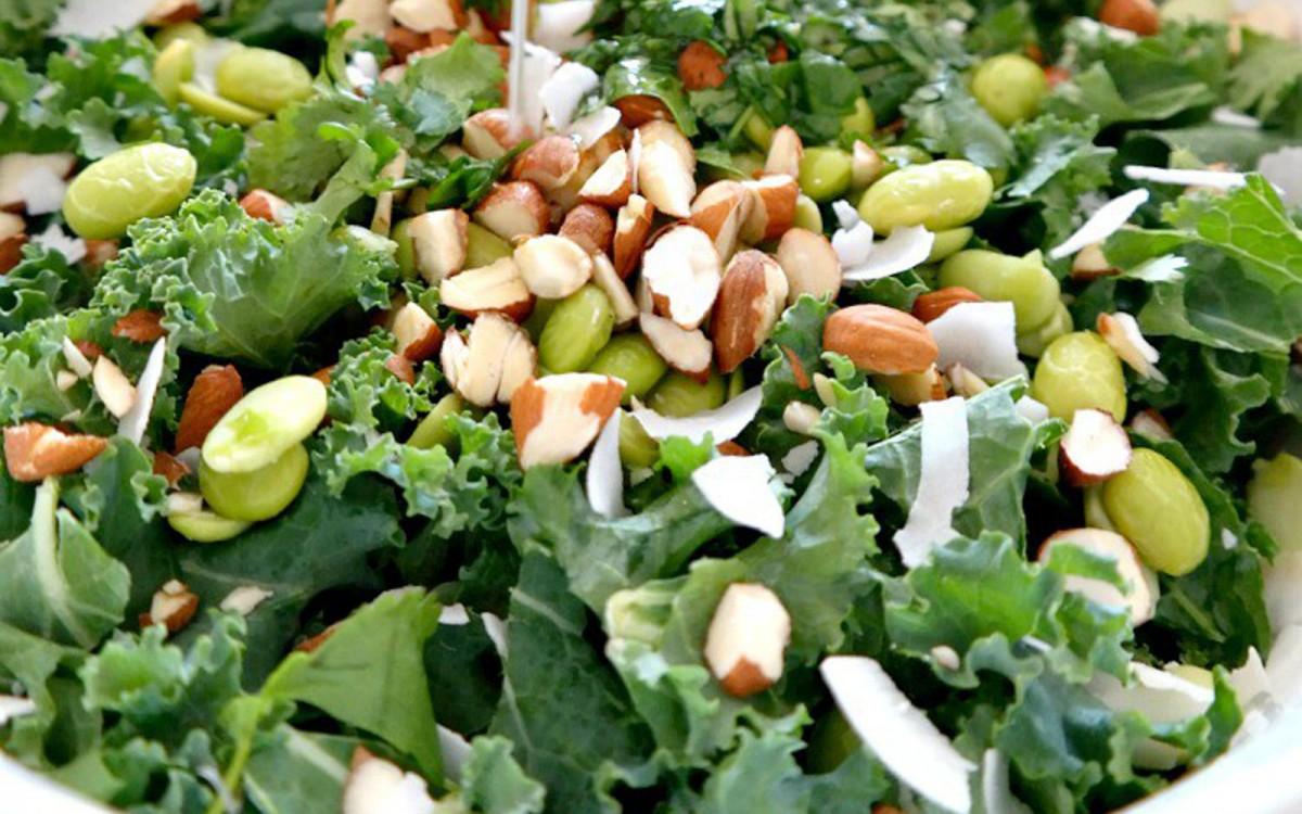 Kale Coconut Salad