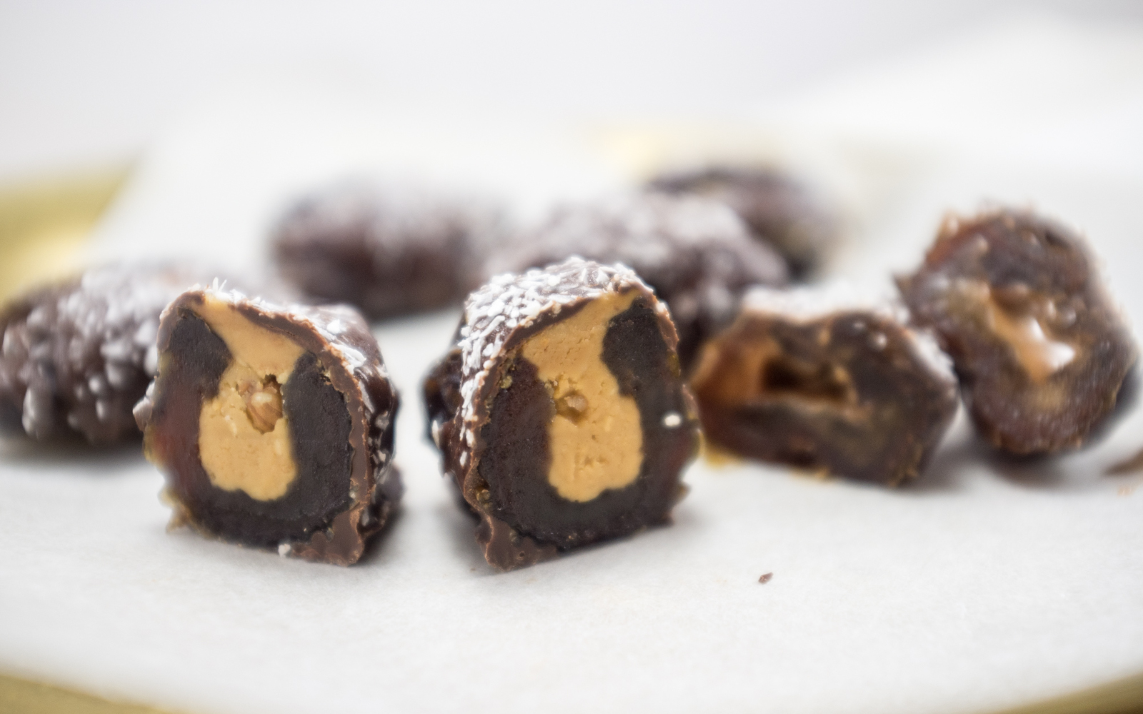 nut-butter chocolate dates