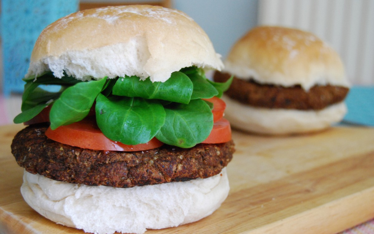 Smoky and Spicy Black Bean Burger