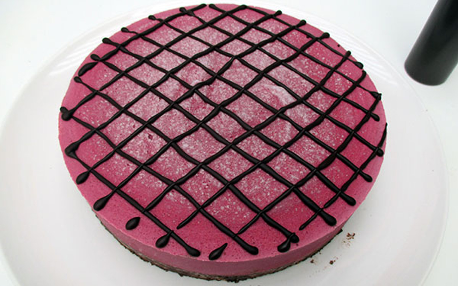 no bake raspberry cake