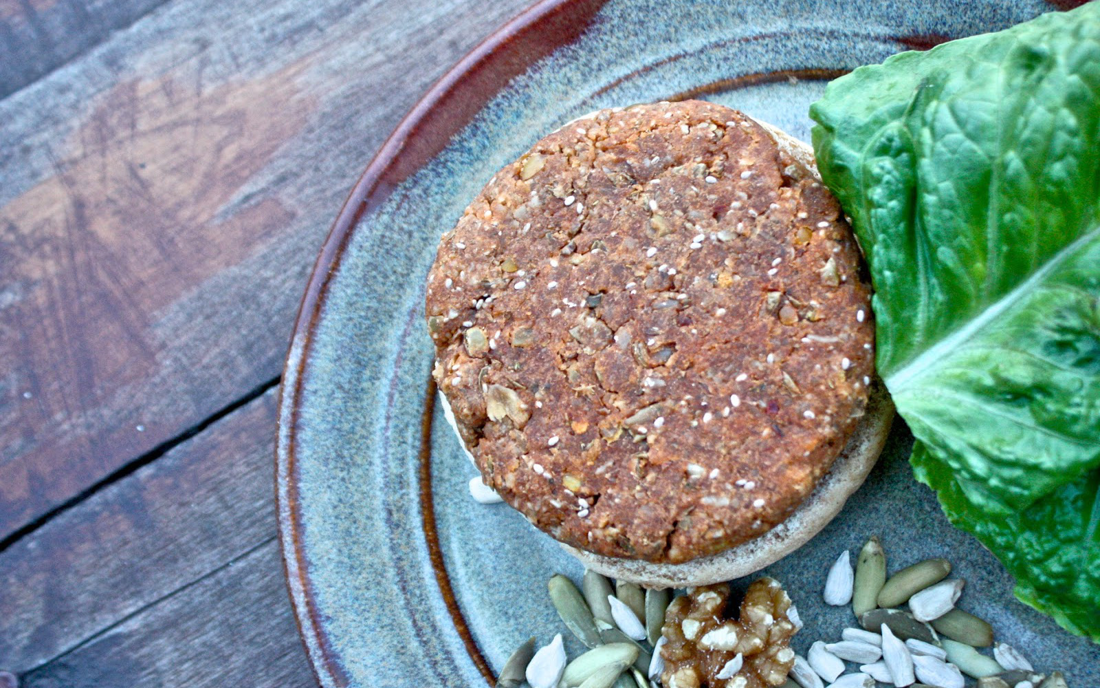 Nut and Seed Burgers