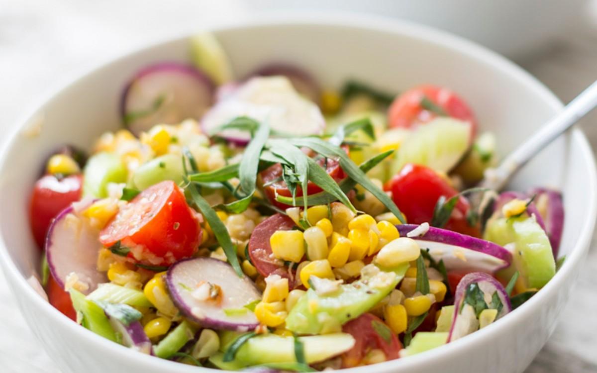 Roasted Corn and Tomato Salad 2