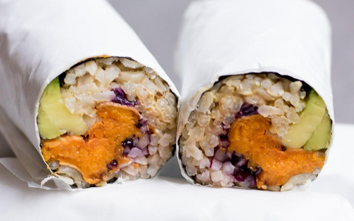 Sweet Potato Sushi Burrito