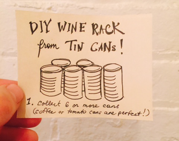 Fight Waste and Drink Wine with this Fun DIY Project!