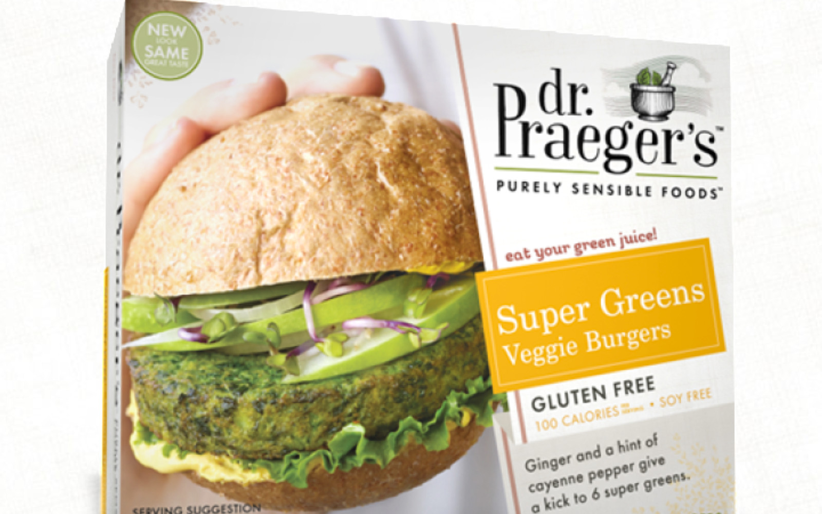Dr Praegers Super Greens Burger