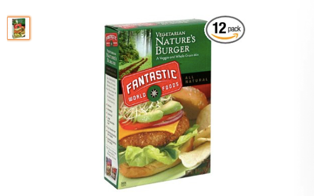 Fantastic World Foods Natural Burger