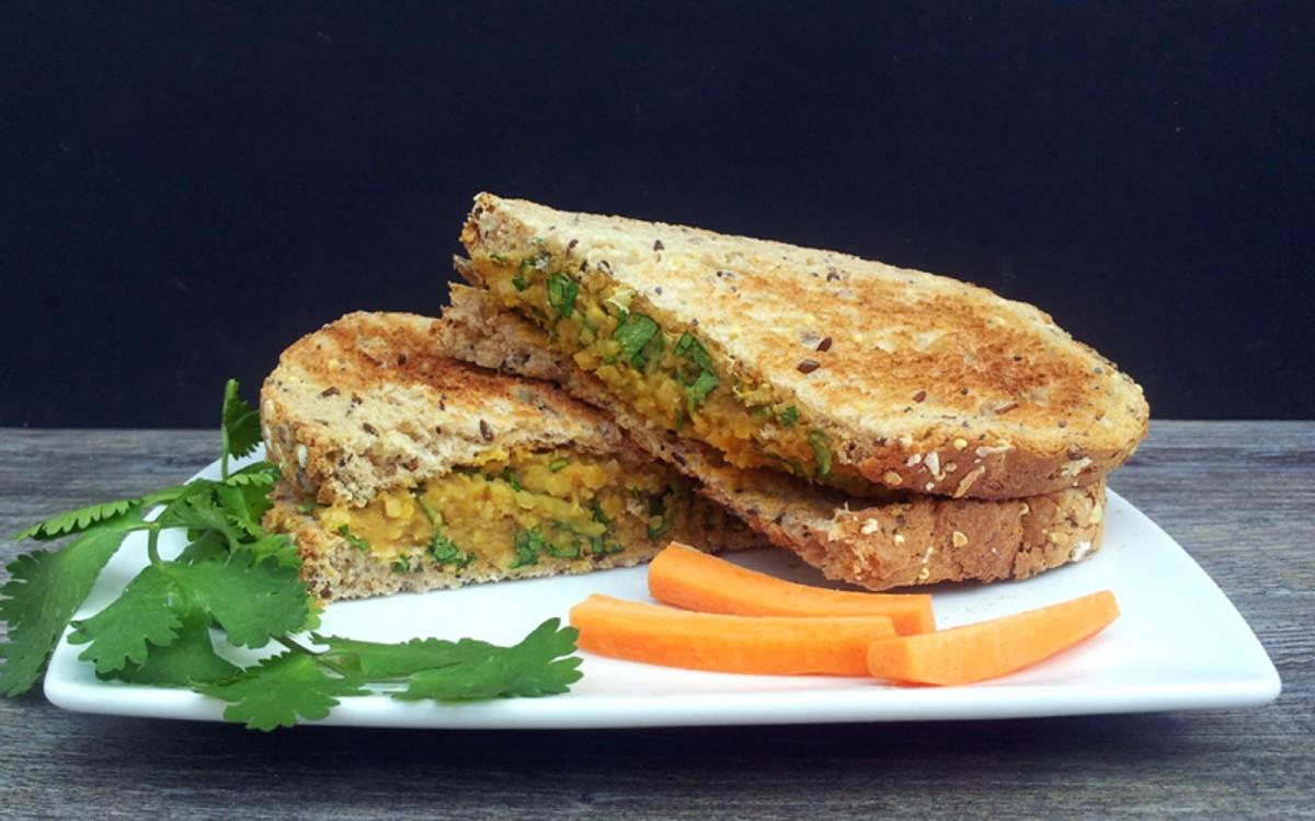 No-Chicken Coronation Sandwich