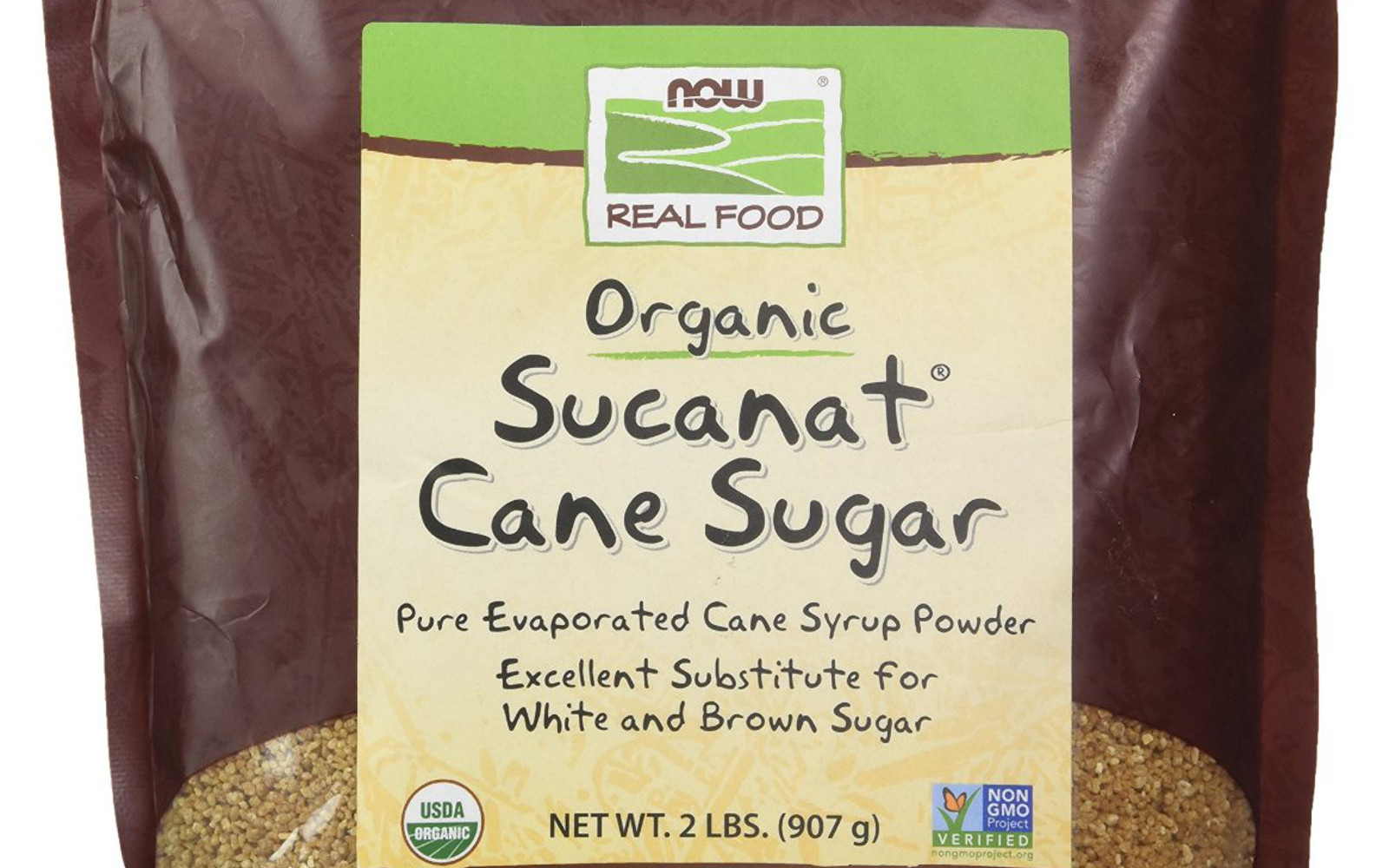 Now Real Food Sucanat Can Sugar