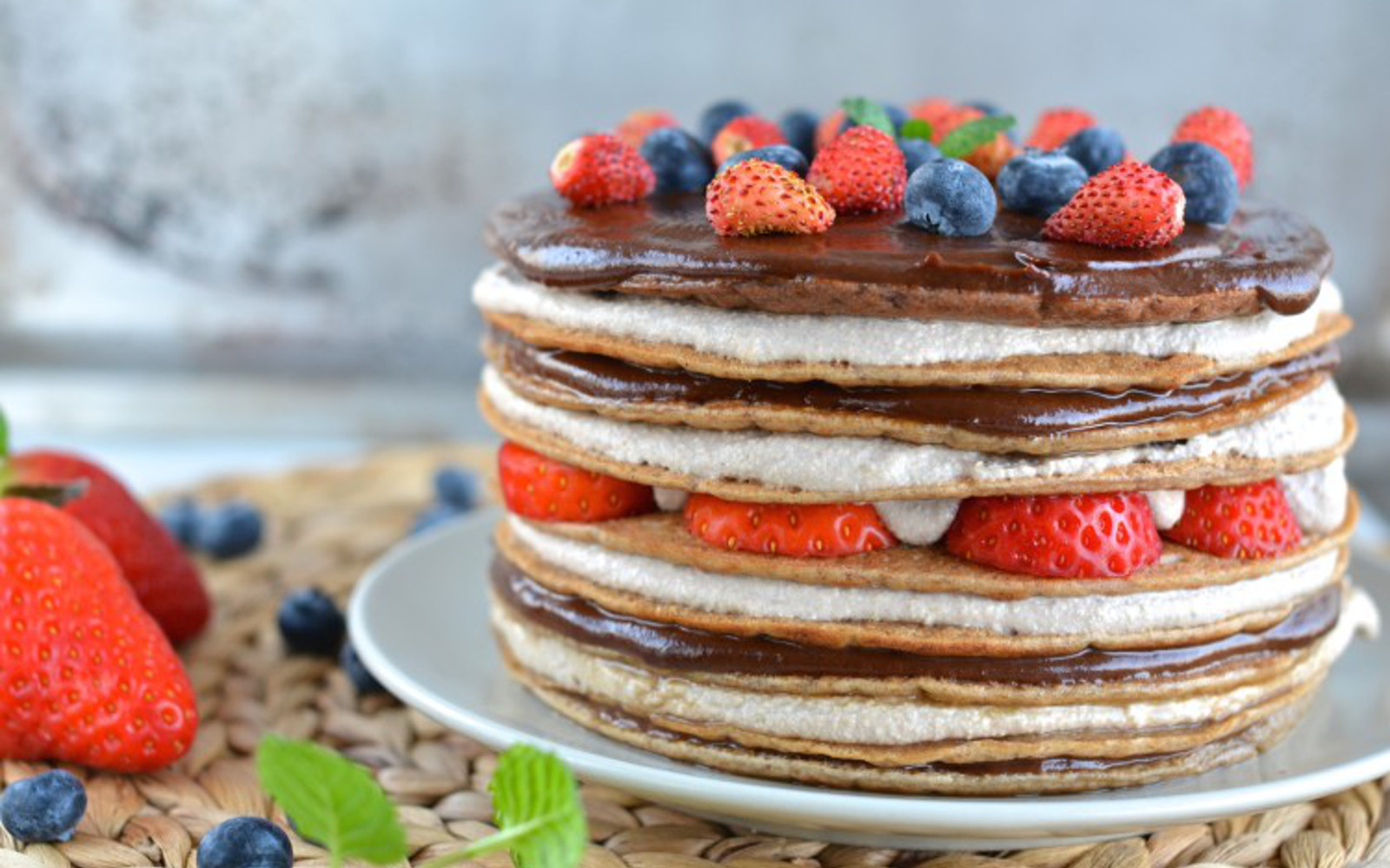 8-layer pancake tart