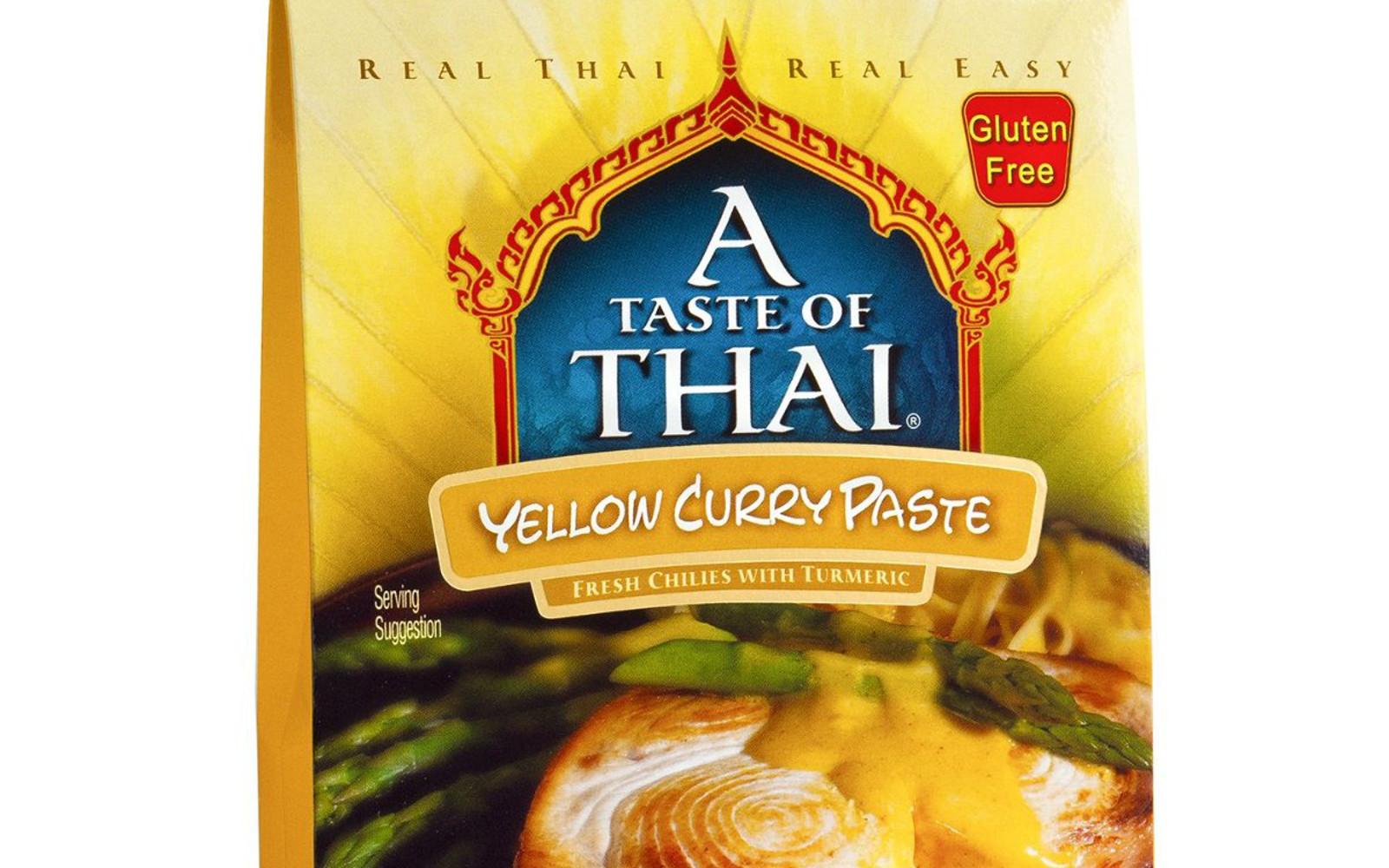 A Taste of Thai Yellow Curry Paste