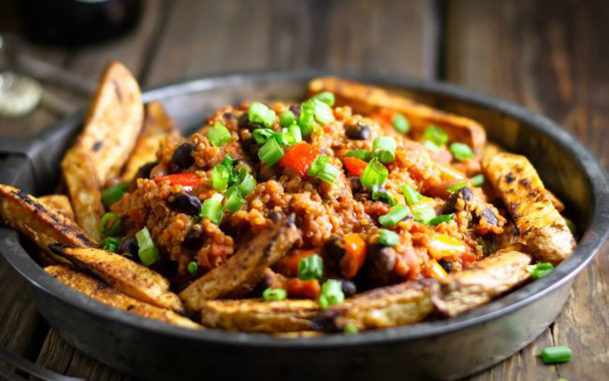 American Quinoa Chili Fries 2