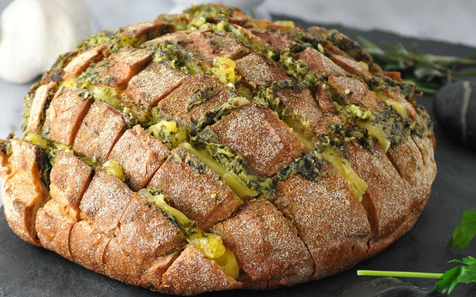 cheesy pull bread