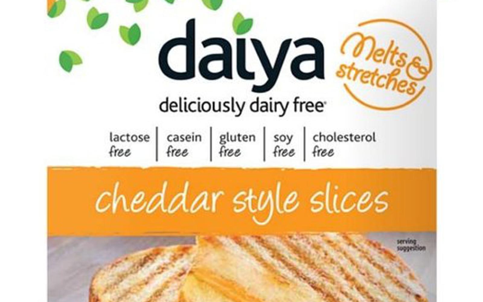 Daiya Cheddar Slices