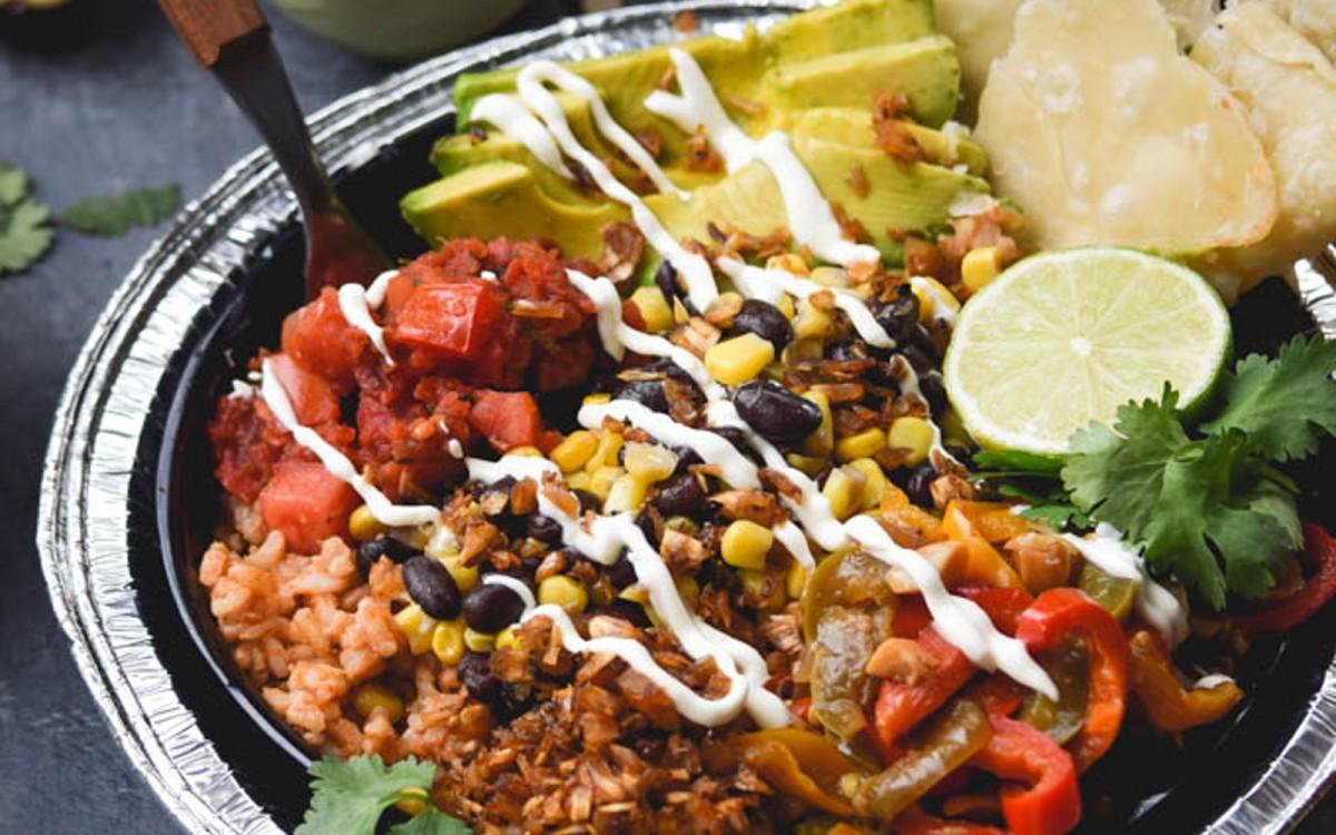 Layered Fiesta Taco Bowls 2