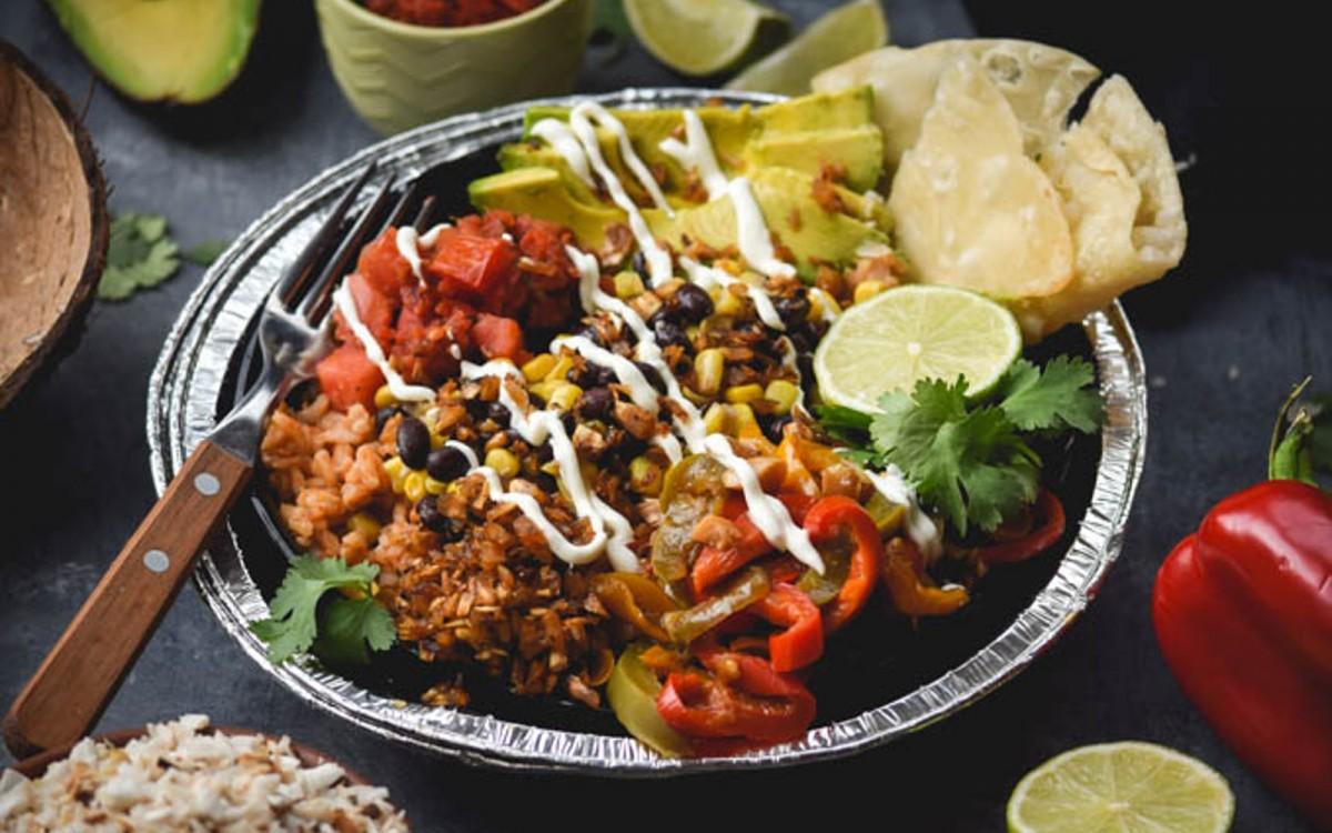 Layered Fiesta Taco Bowls 4