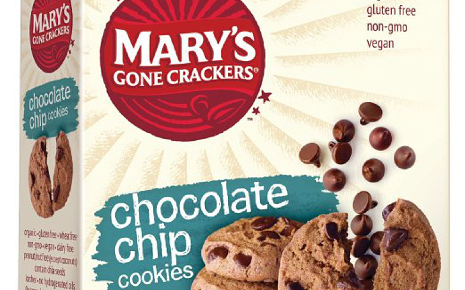Mary's Gone Crackers Cookies