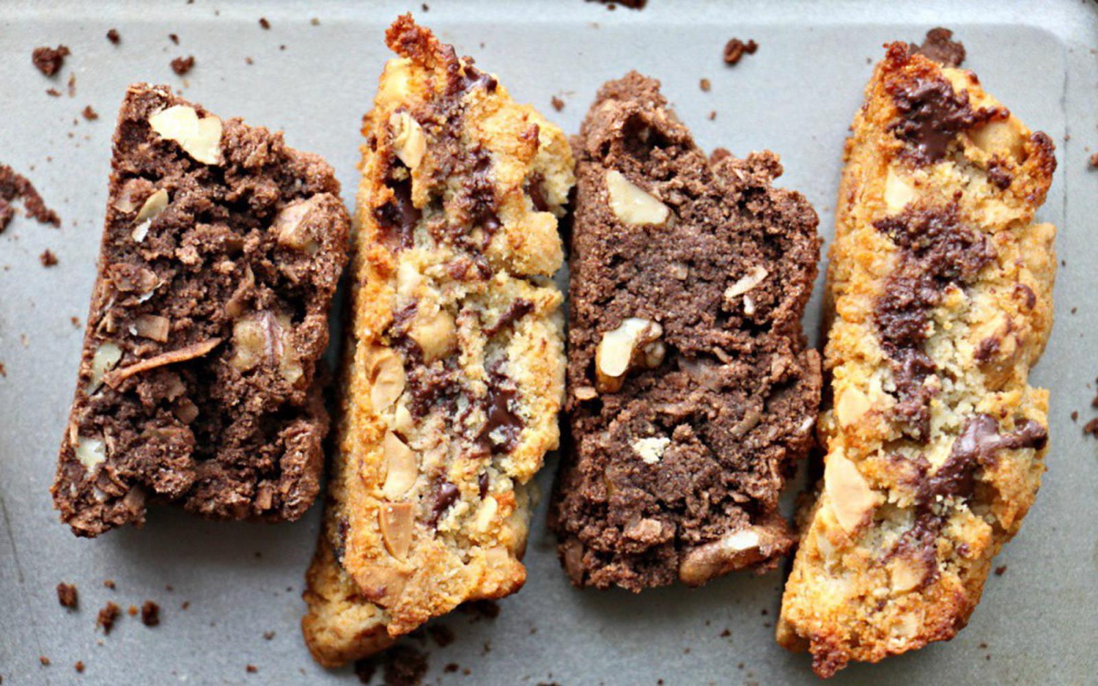 paleo vegan biscotti