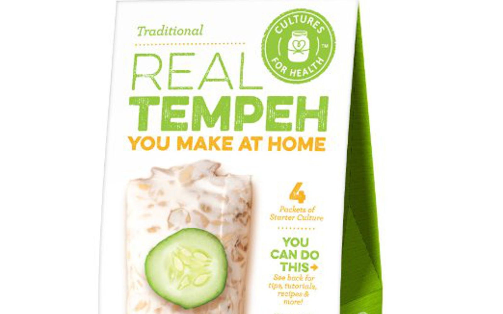 Real Tempeh You Make at Home