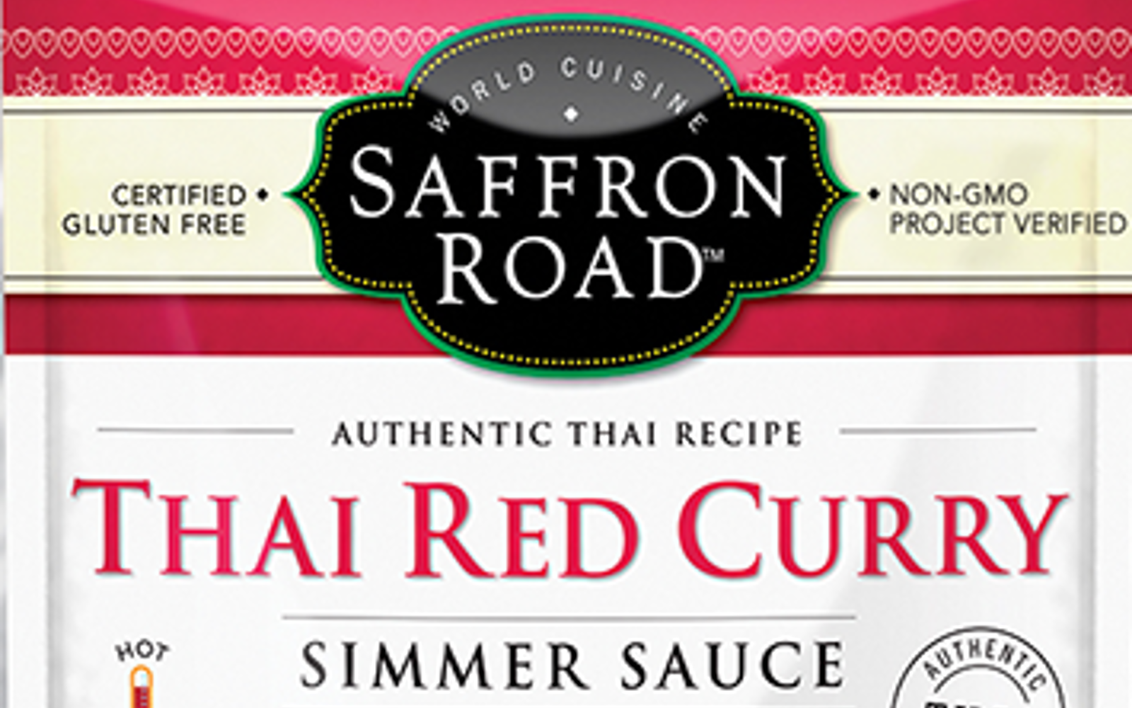 Saffron Road Thai Red Curry Simmer Sauce