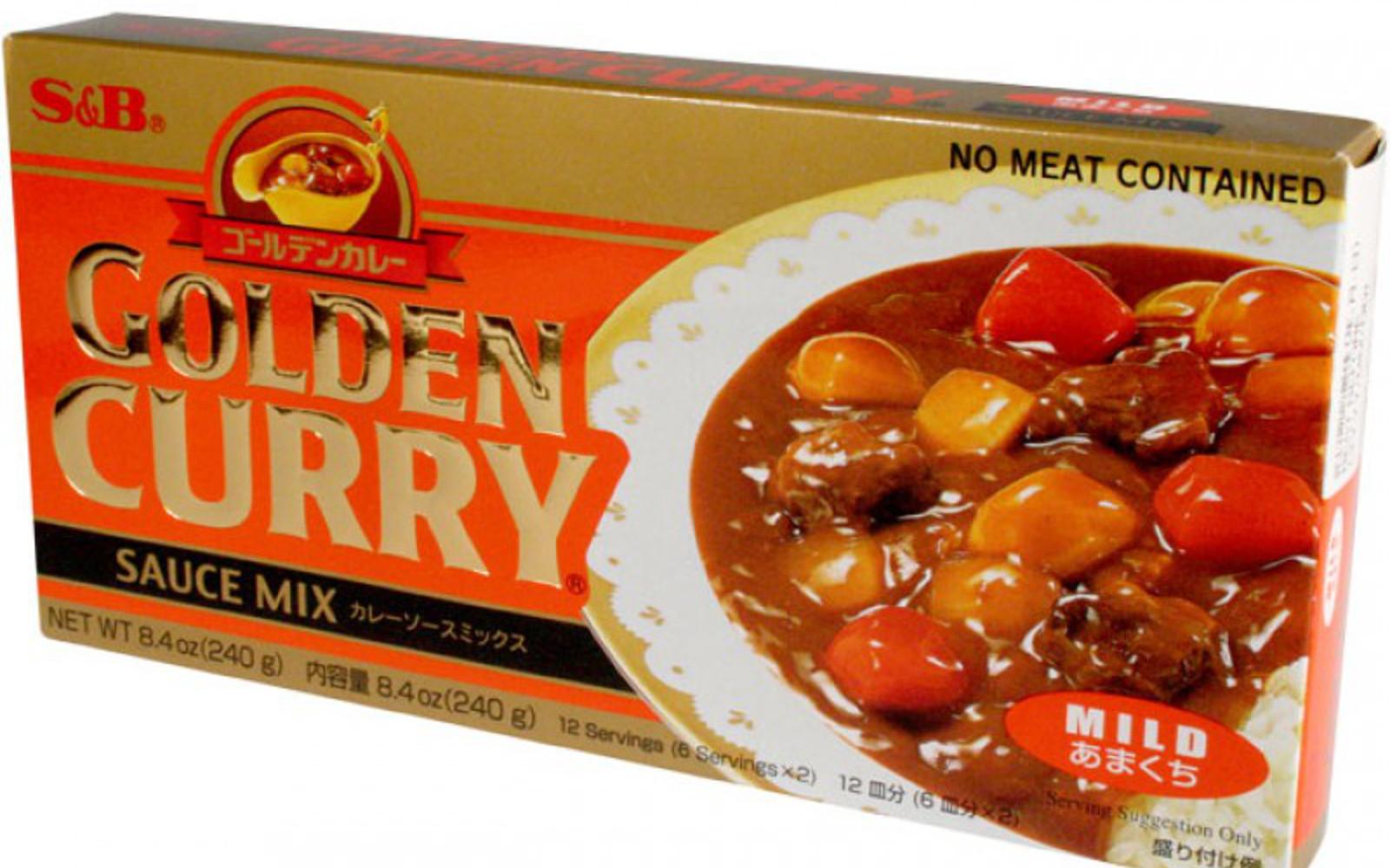 S&B Golden Curry Sauce Mix
