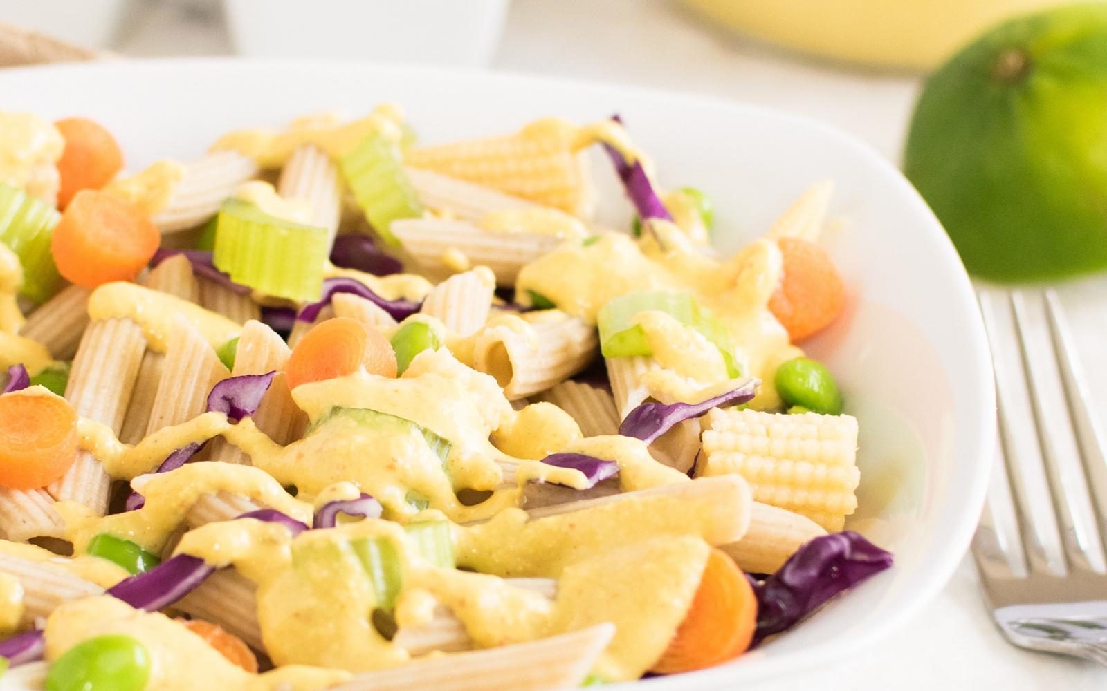 thai curry pasta salad