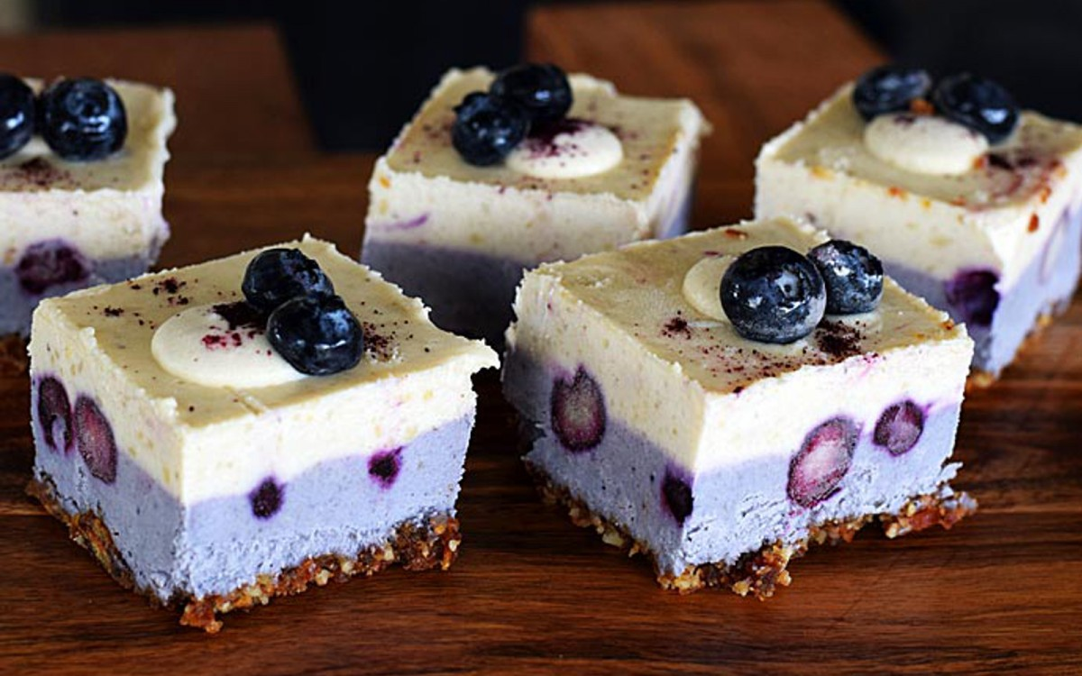 Raw Blueberry Lemon Cheesecake 2