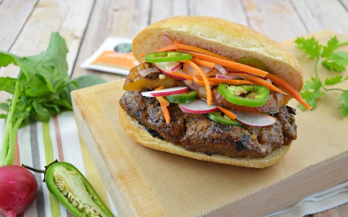 Oolong Banh Mi Burger