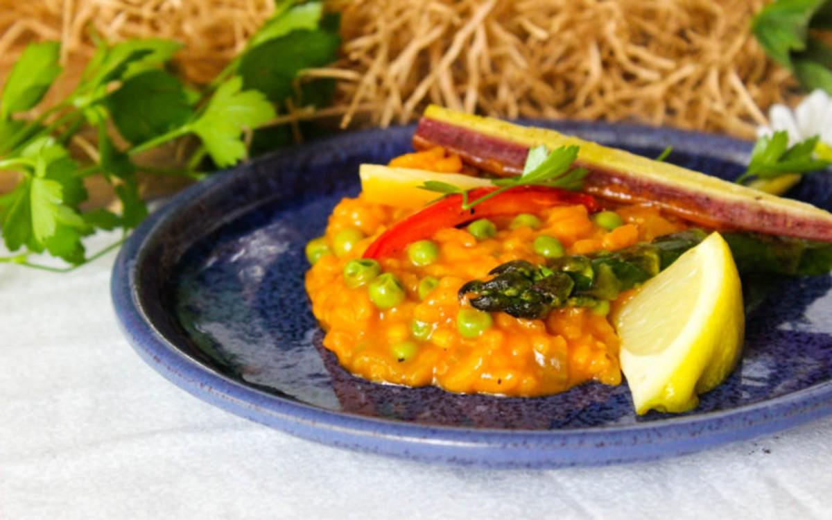 Vegetable Paella Risotto