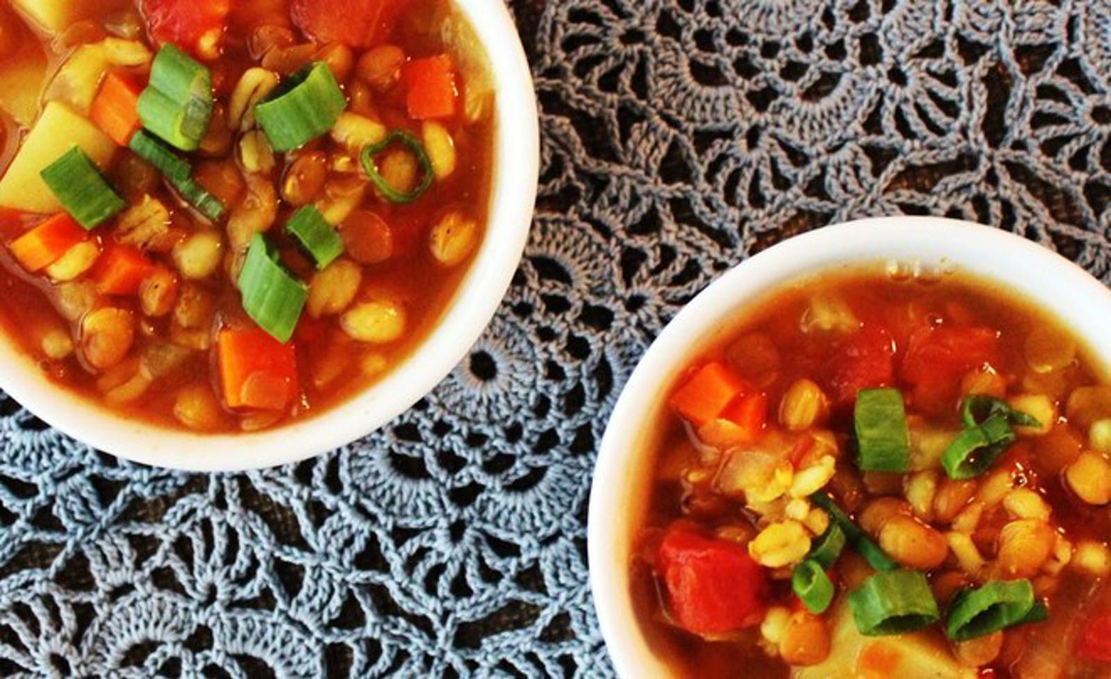 heaty barley soup