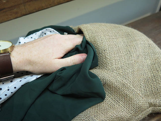 the rogue ginger_old clothes pillow stuffing 05