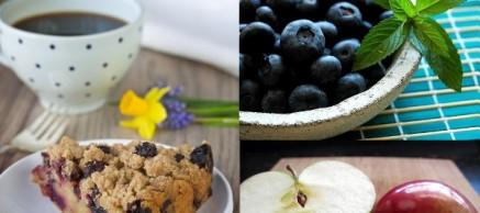 Gluten Free Blueberry Apple Pie Cake
