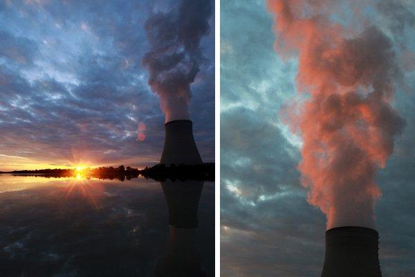 nuclear power not green dangers