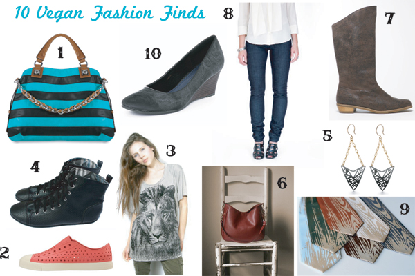 10 Amazing Vegan Fashion Finds