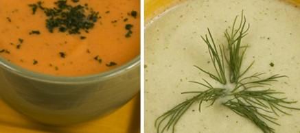 vegan carrot cucumber soup