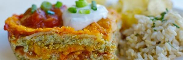 mexican lasagne Vegan